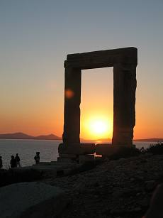 Temple of Apollo - Portara Naxos Island Greece